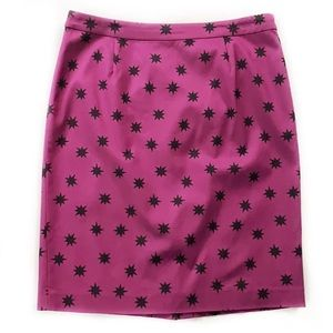 Halogen • Star Print Accent Skirt